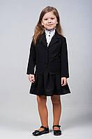 Пиджак для девочек младшего школьного возраста, на подкладе( р.28-36)