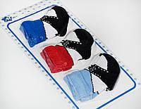 Носки Ластик  (набор 3 пары) р.0-3 мес.