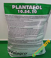 Комплексное удобрение Plantafol (Плантафол) 10.54.10 1 кг, Valagro, Италия