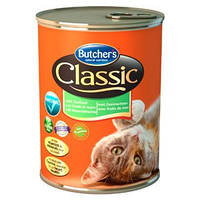 Butcher's CLASSIC морепродукты кусочки 400гр