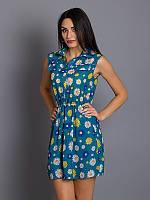 Кокетливое платье в ромашки