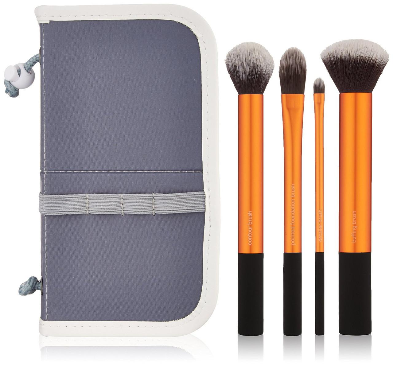 Real Techniques Core Collection набор кистей для макияжа + чехол