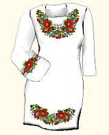 Заготовка платья женского для вышивки