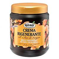 Маска для волос MilMil Crema Rigenerante all'Olio di Argan с аргановым маслом для всех типов волос, 1л
