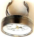 """Термометр воды накладной (указатель температуры) для котлов, под """"клипсу"""" 50 мм, диаметр 65 мм, код сайта 5003, фото 2"""