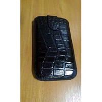 Чехол-карман HTC Desire SV черный рептилия