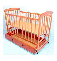 Кроватка детская с шухлядкой