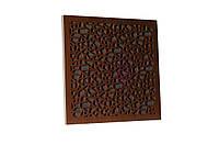 Акустична панель Ecosound EcoArt brown 50х50 см 53 мм, колір коричневий, фото 1