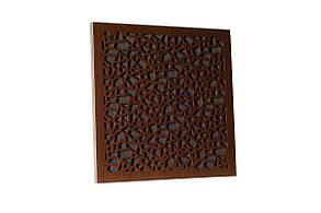 Акустична панель Ecosound EcoArt brown 50х50 см 53 мм, колір коричневий