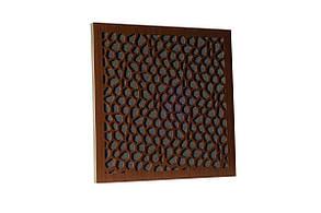Акустична панель Ecosound EcoNet brown 50х50 см 53мм колір коричневий