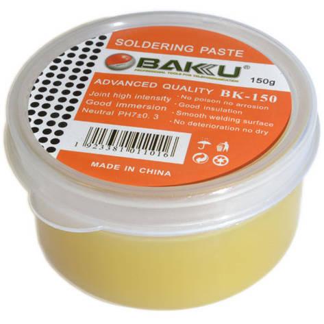Флюс-паста для пайки Baku BK-150 150 грамм, фото 2