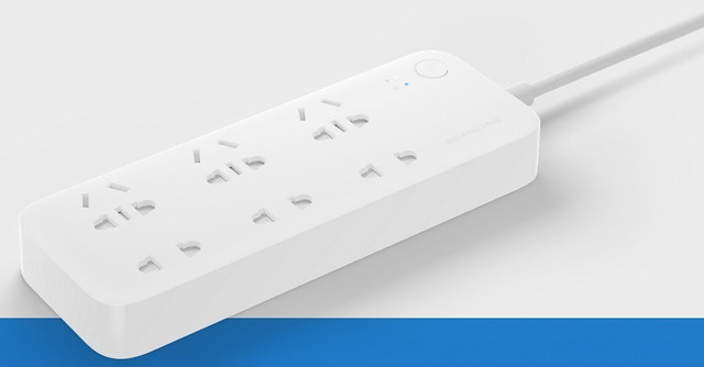 Сетевой фильтр Mi Power Strip Quick Charger 2.0 MDY-3-EB