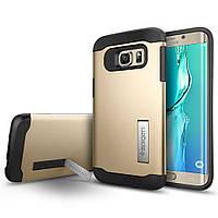 Чехол SGP Spigen Slim Armor для Samsung Galaxy S6 Edge G925 Champagne Gold