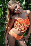 Дизайнерский купальник для девочки раздельный от 3 до 14 лет. Детский купальник от украинских дизайнеров.