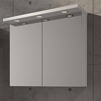 Зеркальный шкафчик с декоративной подсветкой Fancy Marble MC-10 (ШЗ-10)