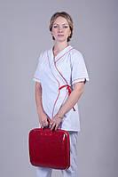 Женский медицинский костюм, х/б (батист)