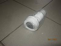 Сливной штуцер с мембраной, для транца, пластиковый