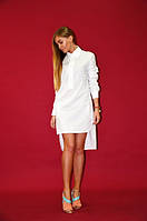 Летнее платье-рубашка Undine, белое