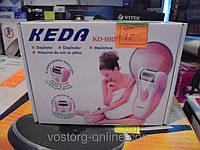 Женский эпилятор Keda 180, аккумуляторный эпилятор, 2 скорости, удаление волос, гладкая кожа, эпиляторы
