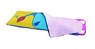 Спальный мешок-одеяло для детей Kid-Camp 150 детский стильный прочный качественный спальник