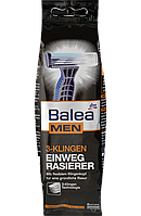 BALEA Одноразовые станки для бритья 3-Klingen Einwegrasierer с тремя лезвиями 8 шт