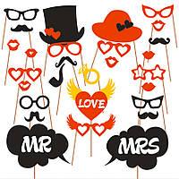 """Фотобутафория """"MR & MRS"""" , свадебная фотобутафория, аксессуары для фотосессии"""