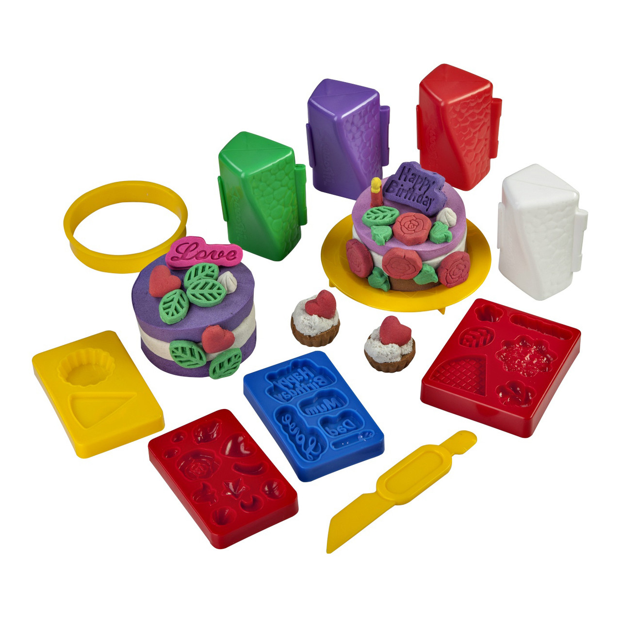 """Творчество и рукоделие «Irwin Toy» (30022) набор для лепки «Skwooshi» """"Веселый кондитер"""""""
