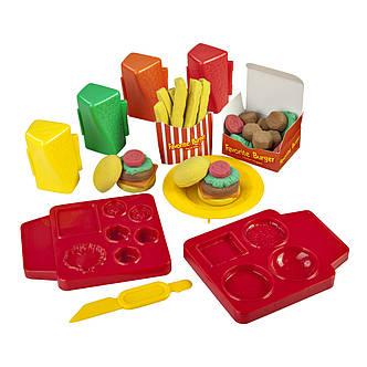 "Творчество и рукоделие «Irwin Toy» (30021) набор для лепки «Skwooshi» ""Горячий бургер"", фото 2"