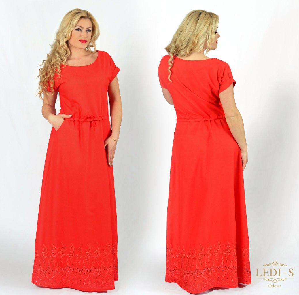 Платье большого 60 размера