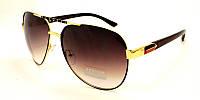Солнцезащитные очки Avatar с коричневыми дужками