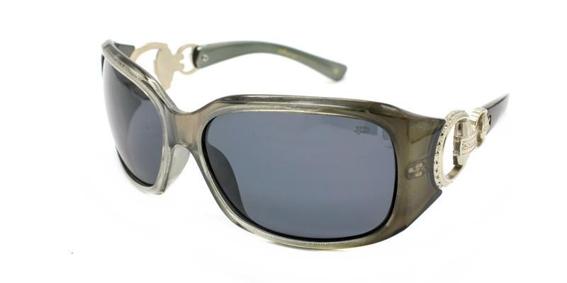 Женские солнцезащитные очки monoego polaroid с серыми линзами