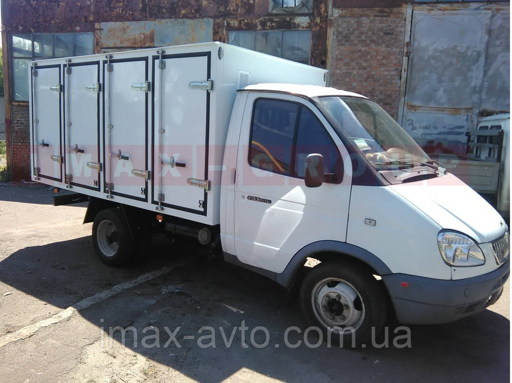 Хлебный фургон на а/м ГАЗ-3302 96 л.