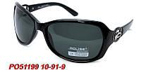 Черные солнцезащитные очки aolise polaroid