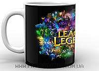 Кружка Лига Легенд афиша