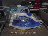 Электрический утюг А-Плюс 0075, техника для дома, утюг, легкая глажка
