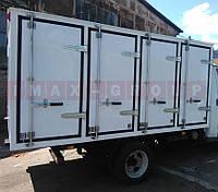 Запорное устройство двери хлебного фургона