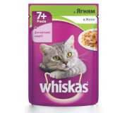 Whiskas (Вискас) с ягненком в желе, 100 гр