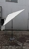 """Уличный зонт для кафе и ресторанов """"Майами 2х2"""" с функцией наклона купола"""