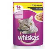 Whiskas по 100 гр курица в соусе
