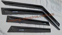 Дефлекторы окон (ветровики) ANV Tuning на Chevrolet Lanos Седан