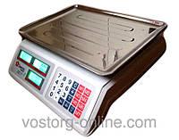 Весы Domotec Dk-40, электронные торговые весы Domotec Dk-40, торговое оборудование весы