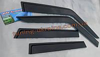 Дефлекторы окон (ветровики) AV Tuning на Chevrolet Lanos Седан