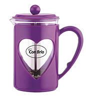 Con Brio Заварник пресс 800мл фиолетовый tp5680СВфиол