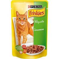 Friskies консерва с кроликом в подливе 100 гр