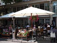 """Солнцезащитный зонт """"Соло ø-4м"""" для летних площадок ресторанов и кафе. дома и дачи"""