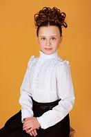 Блузка  для девочки 7 - 9 лет