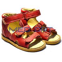 Сандалии ортопедические детские Wik 13-21 Красные