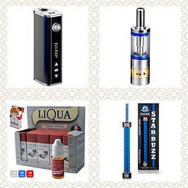 Электронные сигареты, клиромайзеры,батарейные моды, аксессуары