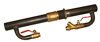 Байпас 50мм под клапан в комплекте 280 мм