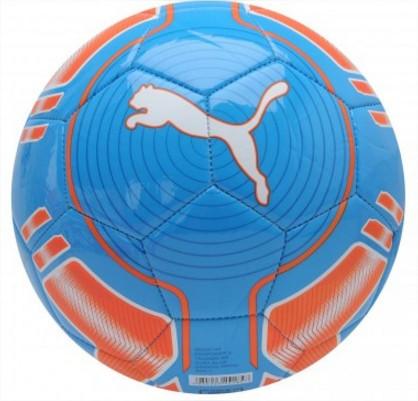 М'яч футбольний evoPOWER 6 Puma синьо-помаранчевий size 4